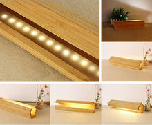 Load image into Gallery viewer, Hayami Bamboo Table Lamp