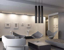 Load image into Gallery viewer, Modern pendant lights in minimalist, contemporary living room