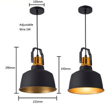 Load image into Gallery viewer, Industrial Pendant Lamp