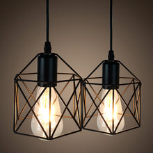 Load image into Gallery viewer, Keji American Rustic Industrial Pendant Light