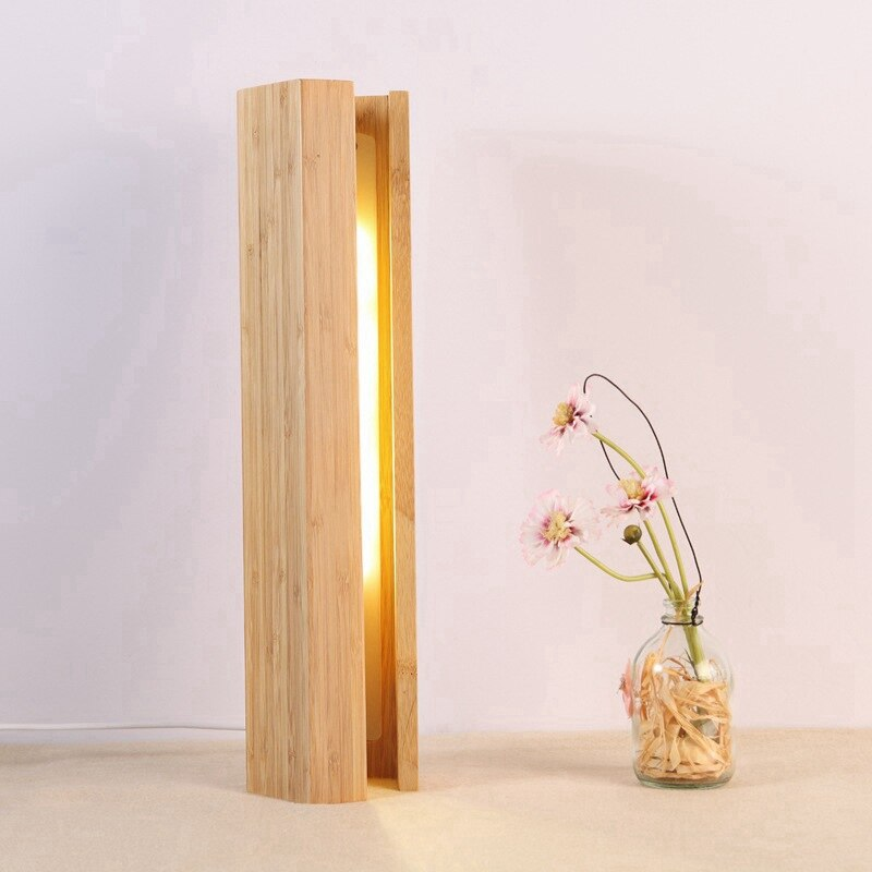 Hayami Bamboo Table Lamp