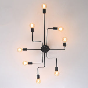 Kumo Modern Industrial Flush Mount Ceiling Light