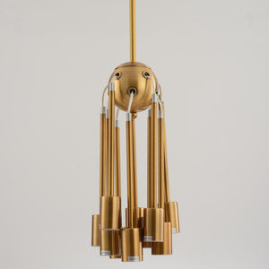 Hanabi Mid-Century Modern Sputnik Chandelier - Available in Gold, Silver & Black