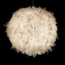Load image into Gallery viewer, Tengoku White Feather Hanging Pendant