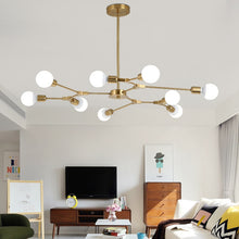 Load image into Gallery viewer, kinoeda sputnik chandelier mid century modern light