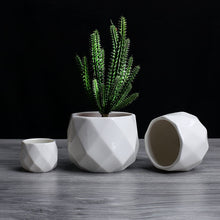 Load image into Gallery viewer, Geometric Vases
