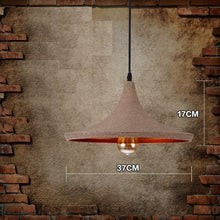 Load image into Gallery viewer, Nara Natural Hemp Pendant Lamps