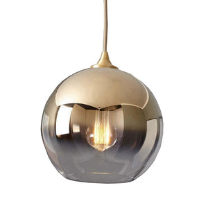 Kintama Pendant Lamp in Champagne