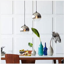 Load image into Gallery viewer, Kintama Pendant Lamp in Silver