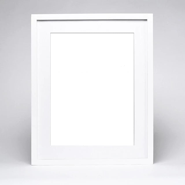 Wood Picture Frame - White