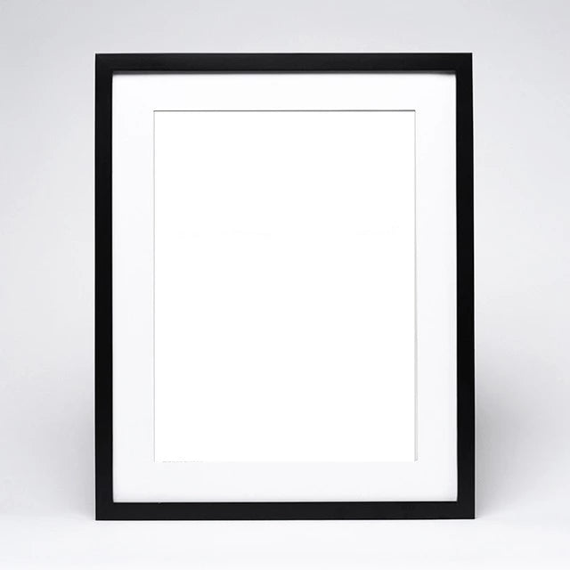 Wood Picture Frame - Black