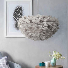 Load image into Gallery viewer, Tengoku II Feather Hanging Pendant (Available in White and Grey)