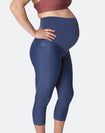 ** CLEARANCE ** Maternity Leggings - Classic Bondi Blue