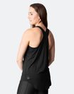 ** CLEARANCE ** Breastfeeding Top - Rise Up Tank Black