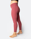 ** CLEARANCE ** Power FIT - High Waisted Tights 7/8 Rouge