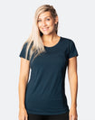 Breastfeeding T-Shirt - Bamboo Workout Tee Peacock