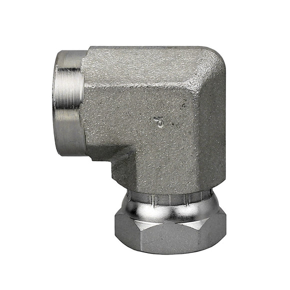 1502-16-16<br>Female Pipe Swivel 90