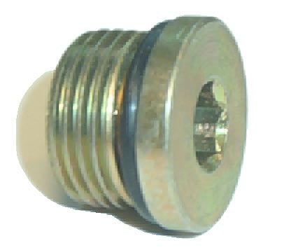 6408-HHP-06<br>Male O-Ring Plug