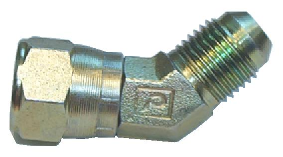 6502-08-08<br>Male JIC x Female JIC Swivel 45