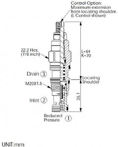 PB11A30EL<br>Reducing/Relieving Valve <br>(Replaces Sun PRDB-LEN)