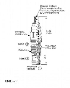PP11A30DL<br>Reducing/Relieving Valve <br>(Replaces Sun PPDB-LDN)