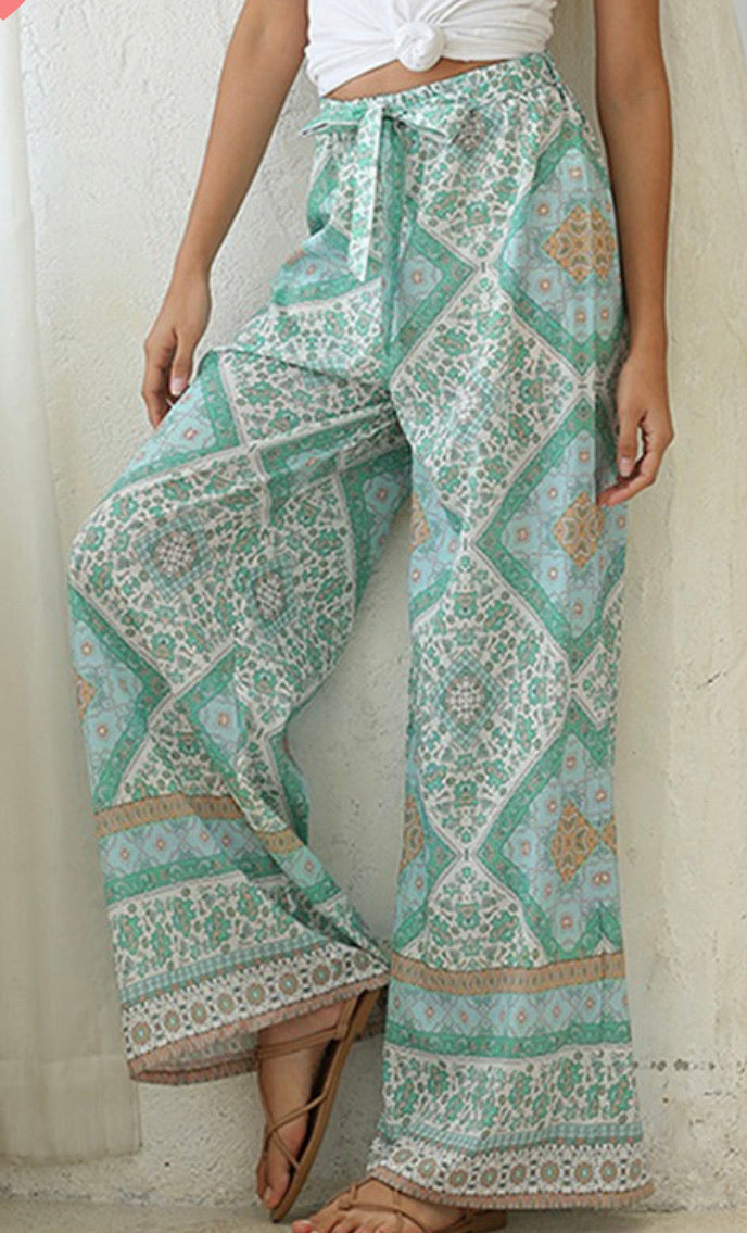 Beach pants - Green