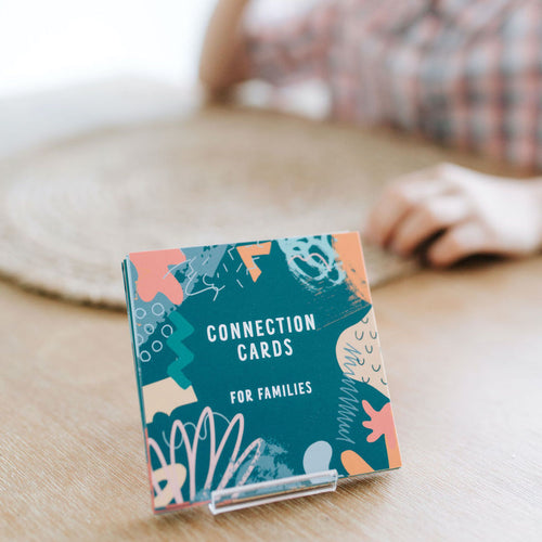 Connection Cards for Families and Friends - the BEST conversation starters for families and groups and gratitude prompts to help your kids develop a habit of gratitude