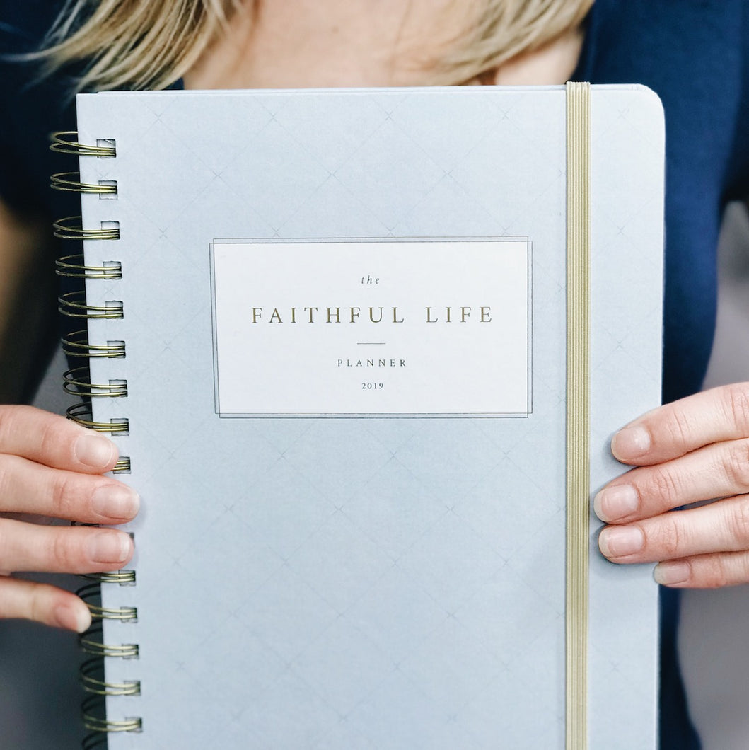 2019 Faithful Life Planner