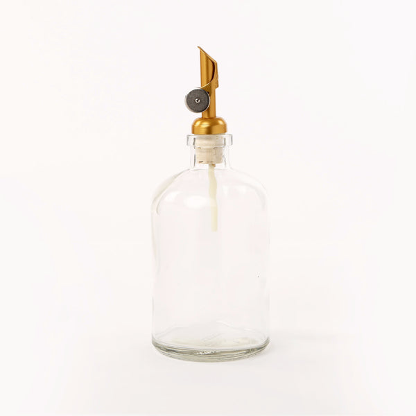 Gold Tip Spout Apothecary Dispenser