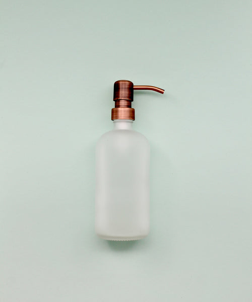 Frosted Copper Dispenser