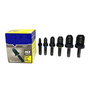 6x Swaging Tool Drill Bit Set