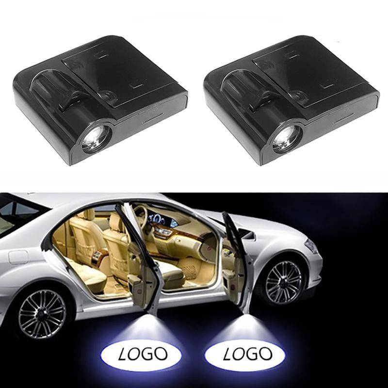 Led Lights For Cars >> 1pc Universal Wireless Car Projection Led Lights For Cars Projector Door Shadow Light 4pcs Recommended