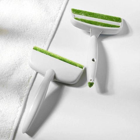 Image of 2 Heads Sofa Bed Seat Gap Car Air Outlet Vent Cleaning Brush Dust Remover Lint Dust Brush Hair Remover Home Cleaning Tools