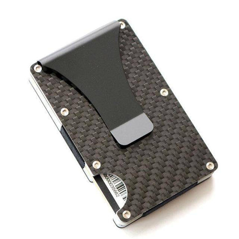 Image of 2019 New Design Minimalist Wallet Rfid Blocking For Men Carbon Fiber Wallet Credit Card Holder