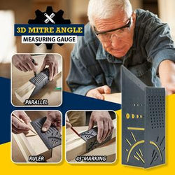 3D Mitre Angle Measuring Gauge