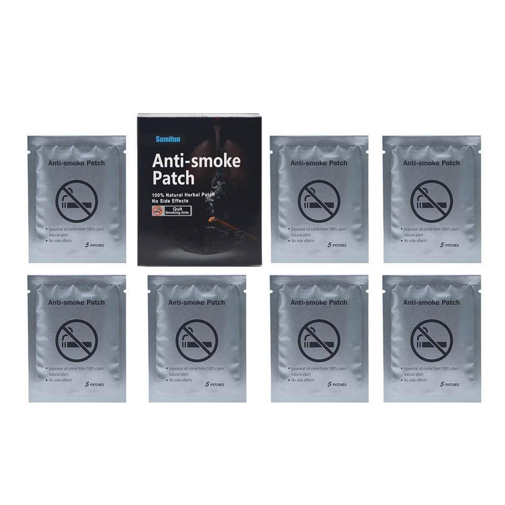 35 Patches  Stop Smoking Anti Smoke Patch For Smoking Cessation Patch 100% Natural Ingredient Quit Smoking Patch