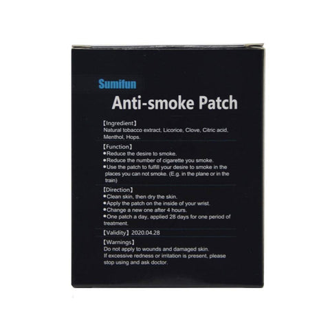 Image of 35 Patches  Stop Smoking Anti Smoke Patch For Smoking Cessation Patch 100% Natural Ingredient Quit Smoking Patch