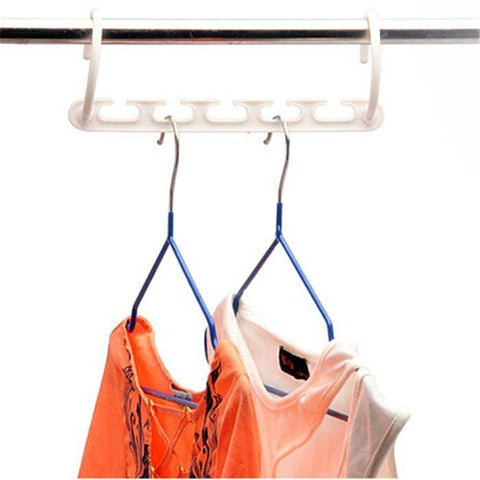 3D Space Saving Hanger Magic Clothes Hanger With Hook Closet Organizer