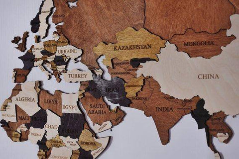 Wood Map Wood Wall Art Wooden Map Wood World Map Rustic World Map ...