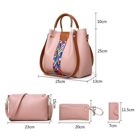 Image of 4 Pcs/set Fashion Women's Handbags