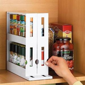 GEARBOMBARD™: Multi-Function Rotating Storage Rack