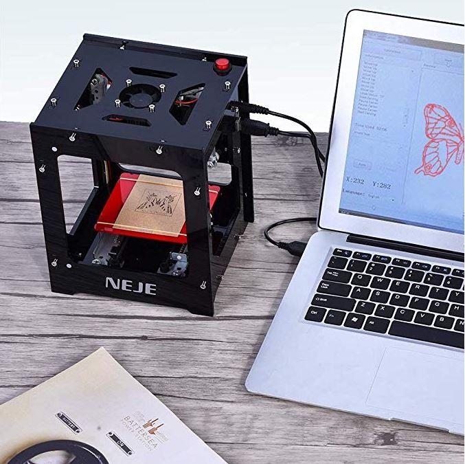 90% OFF ONLY FOR TODAY - 1000mw Mini Laser Engraver Printer  Woodworking USB CNC Router