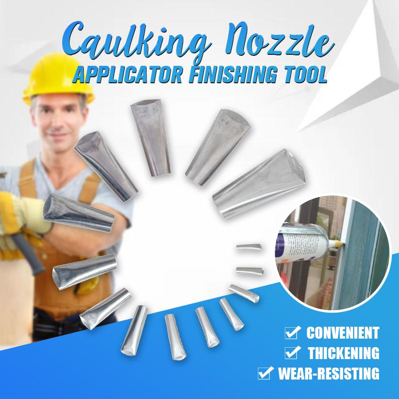 Caulking Nozzle Applicator Finishing Tool ( 14Pcs)