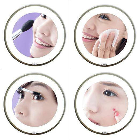 Adjustable Flexible Makeup Mirror With Lights