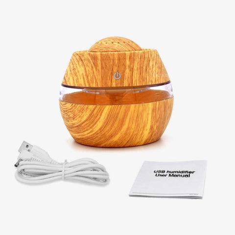 Image of Aromatherapy Essential Oil Diffuser - Air Humidifier