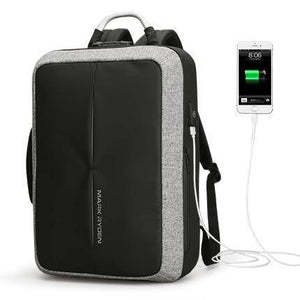 Best Laptop Bag  Anti-thief USB Recharging  Backpack  Travel