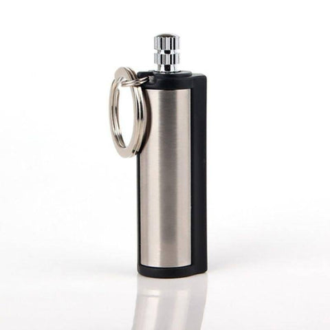 Image of BUY 1 GET 2=3PCS - Best Permanent Striker Lighter Match Emergency Waterproof Fire Starter Silver Metal Key Chain