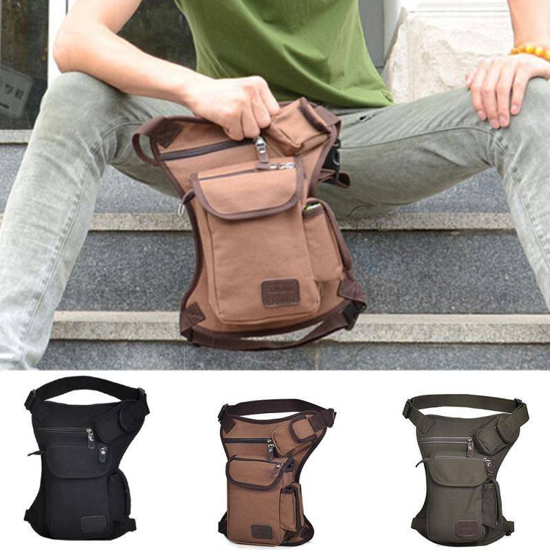 Canvas Drop Leg Bag For: Multi-purpose:woodworking,Military,travel.....