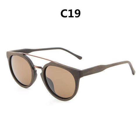 Image of Classic  Original Wood Sun Glasses Women Men