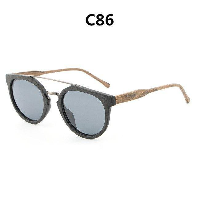 Classic  Original Wood Sun Glasses Women Men